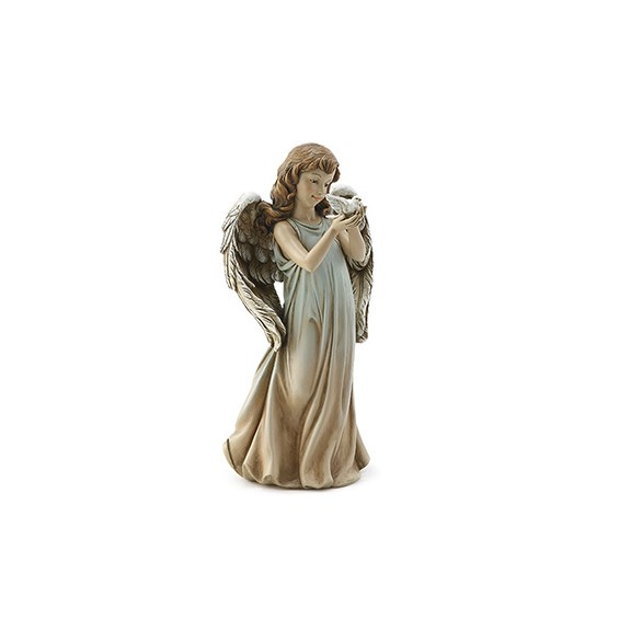 12-and-a-half-inch-Angel-Girl-Holding-Dove-statue