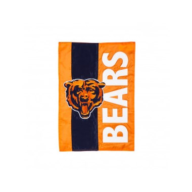 Chicago Bear Garden Flag