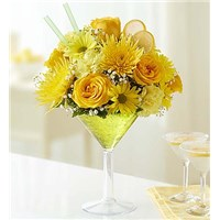 Lemon-Martini-Flower-Bouquet